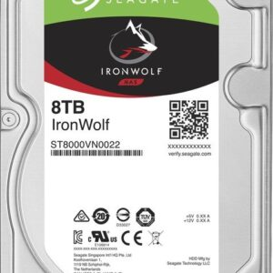 Seagate 8TB IronWolf 7200RPM 256MB ST8000VN004