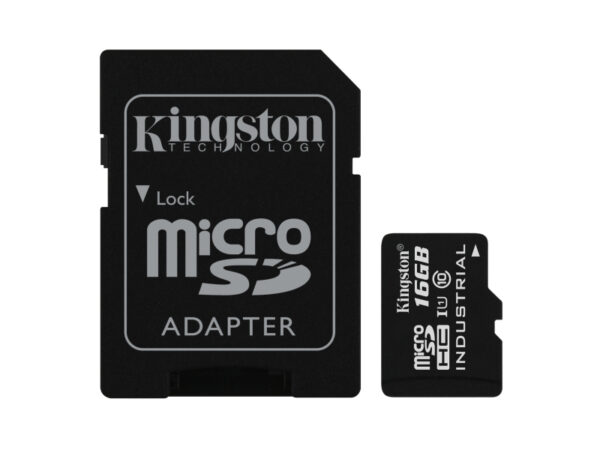 Kingston Industrial Temperature MicroSD UHS-I 16GB SDCIT/16GB