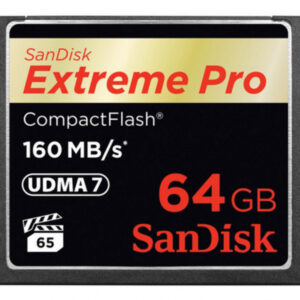 Sandisk CF 64GB  EXTREME Pro 160MB/s retail SDCFXPS-064G-X46