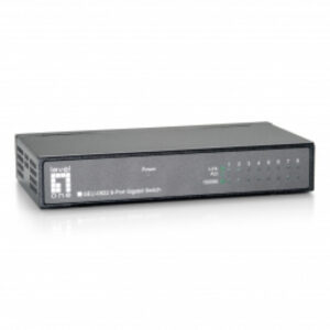 LevelOne Switch 8x GBit Metallgehäuse Unmanaged - GEU-0822