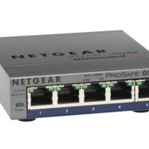 Netgear 5Port Switch 10/100/1000 GS105PE-10000S