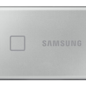 Samsung Portable SSD T7 Touch 1TB Silver MU-PC1T0S/WW