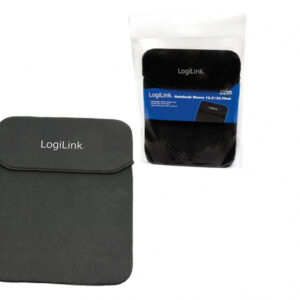 LogiLink NB0034 - Sleeve case - 33.8 cm (13.3inch) - Black NB0034