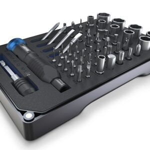 Jakemy HIGH-END HOUSEHOLD Screwdriver Set JM-6125 (60 in 1)