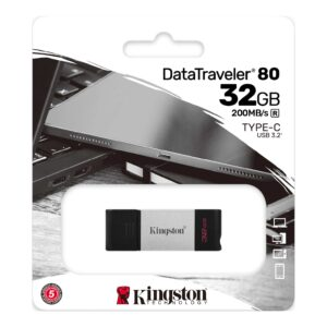 Kingston DataTraveler 80 32 Gt: n USB FlashDrive 3.0 DT80 / 32 Gt