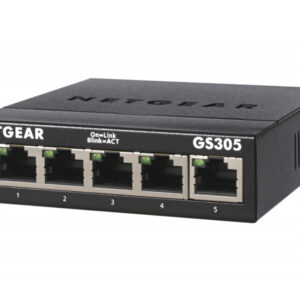 Netgear Switch 5x1000 SMB Metall GS305-300PES