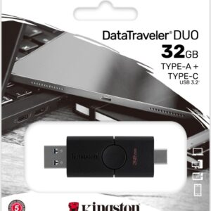 Kingston DT Duo 32GB USB FlashDrive 3.0 DTDE/32GB