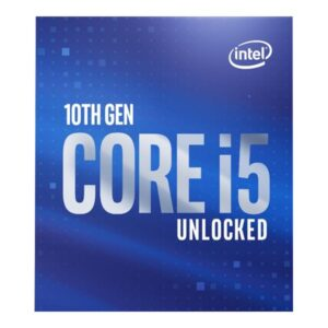 Intel CPU i5-10600K 4.1 Ghz 1200 Box Retail BX8070110600K
