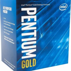 Intel Pentium Gold Dual-Core Processor G6600 4,2 Ghz 4M Box BX80701G6600