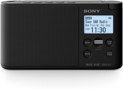 Sony Portable Digital Radio, LCD Display, Alarm Clock XDR-S41D