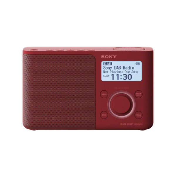 Sony XDR-S61D, DAB+ Radio red - XDRS61DR.EU8