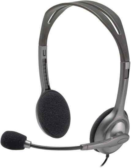 Logitech Headset H110 Stereo Wired - UK Version 981-000472