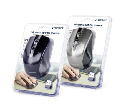 Gembird Wireless optical mouse mixed colors MUSW-4B-04-MX
